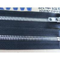 China 5# silver teeth metal zipper on sale