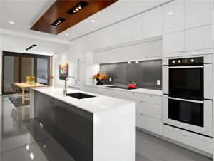 China Cheap kitchen cabinets chocolate bake painting kitchen cabinets colorful kitchen on sale