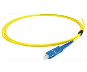 Quality Corde de correction optique de fibre de Sc de listes des prix de corde de correction 3.0mm unimodaux recto for sale