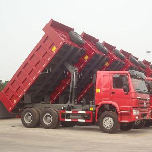 China 336HP 6x4 Drive Wheel Heavy Duty Dump Truck 31 - 40t Capacity on sale