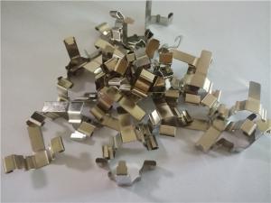 China Conductive Shrapnel Progressive Metal Stamping Parts For Switch , Remote Control Unit on sale