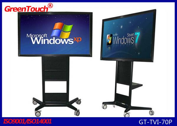 Stable 70 Inch Large Touch Screen Computer , Touch Screen