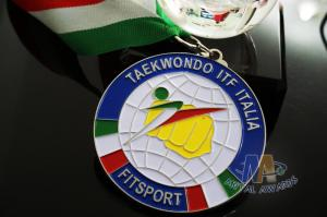 Quality Taekwondo Racing Marathion Swiming Custom Sports Medals Soft Enamel Transparents Color for sale