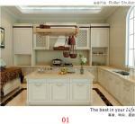 Cabinets Glass Rolling Box Door for Kitchen/Furniture Sliding Door