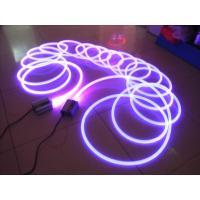 China Custom Energy Efficient DMX Effect High Brightness RGB Fiber Optic LED Illuminator 45w on sale