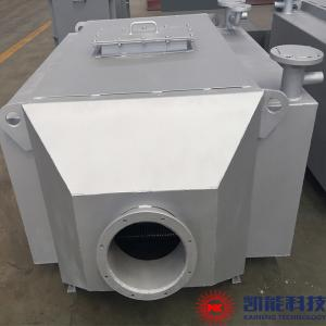 China KNFT-500 Generator Set Waste Heat Boiler / 500 KW Exhaust Gas Hot Water Boiler on sale