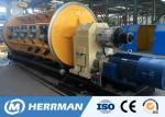 132KW Motor Power Steel Wire Making Machine , Power Cable Machine 40m / Min