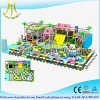 China Hansel Custom big commercial amusement park equipment naughty castle kids playground equipment children soft play indoor on sale
