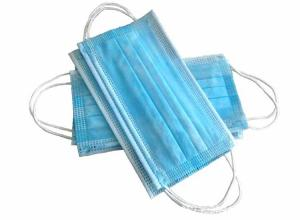 China 3ply Anti Virus Isolation Face Mask With Plastic Wrapped Aluminum Strip on sale