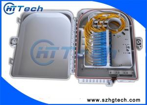 China 1x8 /1X16 PLC Wall Mounted ftth Distribution Box with PLC Splitter on sale
