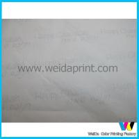Colorful Garment Packing Recycled Wrapping Paper , beautiful wrapping paper