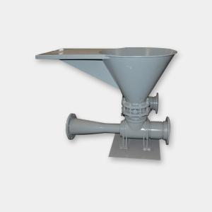 China Ex - Proof Motor Drywall Mud Hopper , Quick Feeding Mud Mixing Hopper on sale