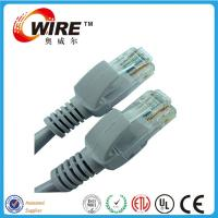 China High Speed Bulk Patch Cables , 2 Meter LAN Network System Patch Cord Cable on sale