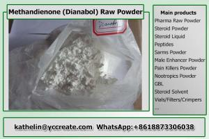 China Oral Steroid Hormone Raw Powder Methandienone / Dianabol / D-Bol / Dbol For Bodybuilding on sale