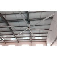 China Aluminum Alloy Warehouse Ceiling Fans , Commercial Warehouse Fans For Air Cooling on sale