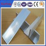 China 2015 new products mill finish 6063 customized aluminum angle aluminum extrusion profile wholesale