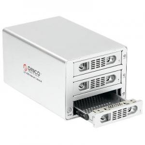 China ORICO 3539susj3 full aluminum USB3.0&eSATA to 3.5 inch sata hdd enclosure on sale