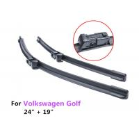 "24"" + 19"" Auto Front Window VW Golf Wiper Blades Aerodynamic Design"