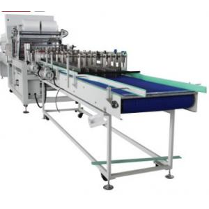 China Industrial Bottle Packing Machine With Heat Seal - Cool Cutting System on sale