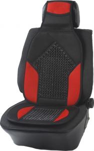 China cloth seat cushion,Black&Red auto cushion,wooden beads car seat cushion,130*50cm auto pillow,car seat,130cm  car covers on sale