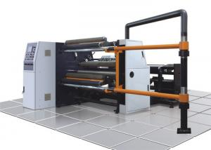 China Paper / Plastic Film Slitting And Rewinding Machine For PET PVC And Package Industry on sale