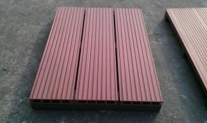 China Resistência UV do nível superior, telhas exteriores eco-amigáveis da plataforma de WPC DIY on sale