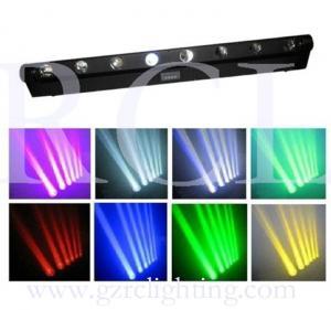 China 8x10W LED Moving Head Beam Light RGBW DMX Stage Light on sale