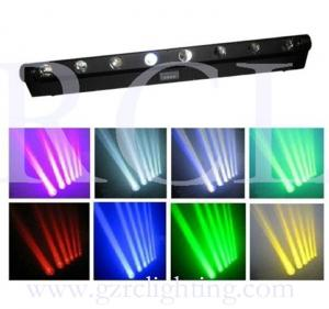 China 8x10W LED Moving Head Beam Light RGBW DMX Stage Light LED bar beam moving head light LED Matrix Light on sale