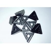 RNK7125 Triangle Carbide Inserts , Carbide Cutting Tnmg Insert Black Color