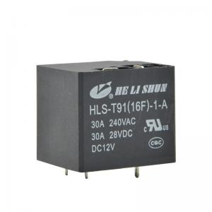 China 5 Pin PCB General Purpose Relay T91 30A 240VAC For Automobile / Machine on sale