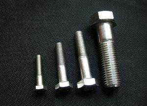 China ASTM A307 Hex Bolts on sale