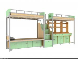 China School dormitory bunk beds apartment customized college loft beds on sale