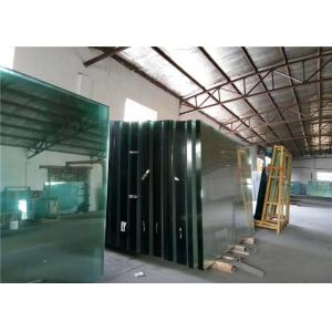 China Low Iron Ultra Clear Float Glass For Buildings Decorative , 1.8mm-19mm Thick on sale