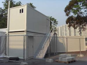 China Stores Ablution Container - Foldable, Movable, Sandwich Panel With Steps on sale