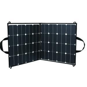 China Folding Custom Solar Panels 60 Watt Corrosion Resistant With Black Fiber Cloth on sale