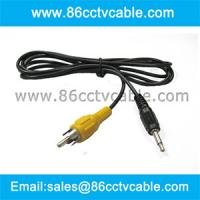 China 3.5mm Audio To RCA Analog Audio Mono Cable on sale