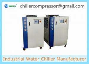 China 5HP-20HP Scroll Type Air Cooled Water Chiller for Milk Cooling on sale