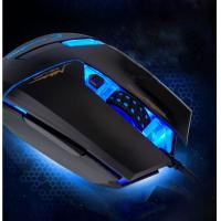 Durable multi button Optical Wired mouse blue light , durable mouse for gaming