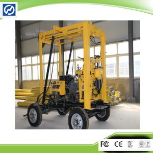 China 100m depth 200mm diameter tractor mounted water well drilling rig on sale
