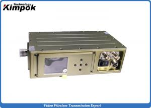China 300Mhz - 900Mhz COFDM Video Transmitter For Broadcasting Video Audio Transmission on sale