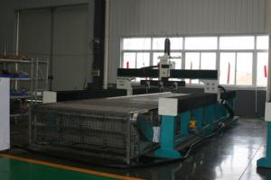 China 8000*3000mm 420mpa 220v/380v/415v high pressure cnc water jet cutting machine with CE on sale