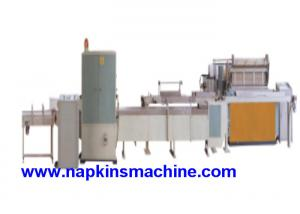 China Industrial Jumbo Roll Toilet Paper Production Line Of Automatic Rewinder on sale