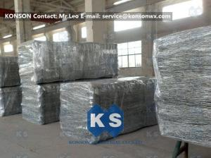 China Heavy Zinc Galvanised Gabion Basket With Straight / Reverse Twisted Galfan Coated Wire on sale