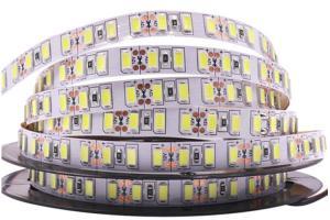 China Super Bright 120leds/M 24v Led Strip Lights SMD 5730 Flexible Led Ribbon Lights For Christmas on sale
