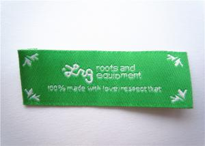 China custom apparel accessories Clothing Label Tags garment clothing pink woven lables on sale
