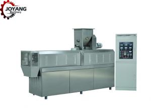 China High Efficiency Soy Protein Machine PLC Control System With Cooling Conveyor on sale