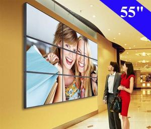 China 55 Inch DID LCD Video Wall 3.5mm super narrow bezel Original Screen Panel 3X3 on sale