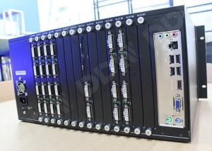 China Dual Link DVI Input  4k video wall processor , video wall matrix controller 144 maximum output numbers DDW-VPH0808 on sale