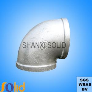 China malleable iron pipe fittings on sale