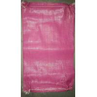 50 CM Length Extrusion Net Packaging Bags , Woven Mesh Bags For Agricultural Product